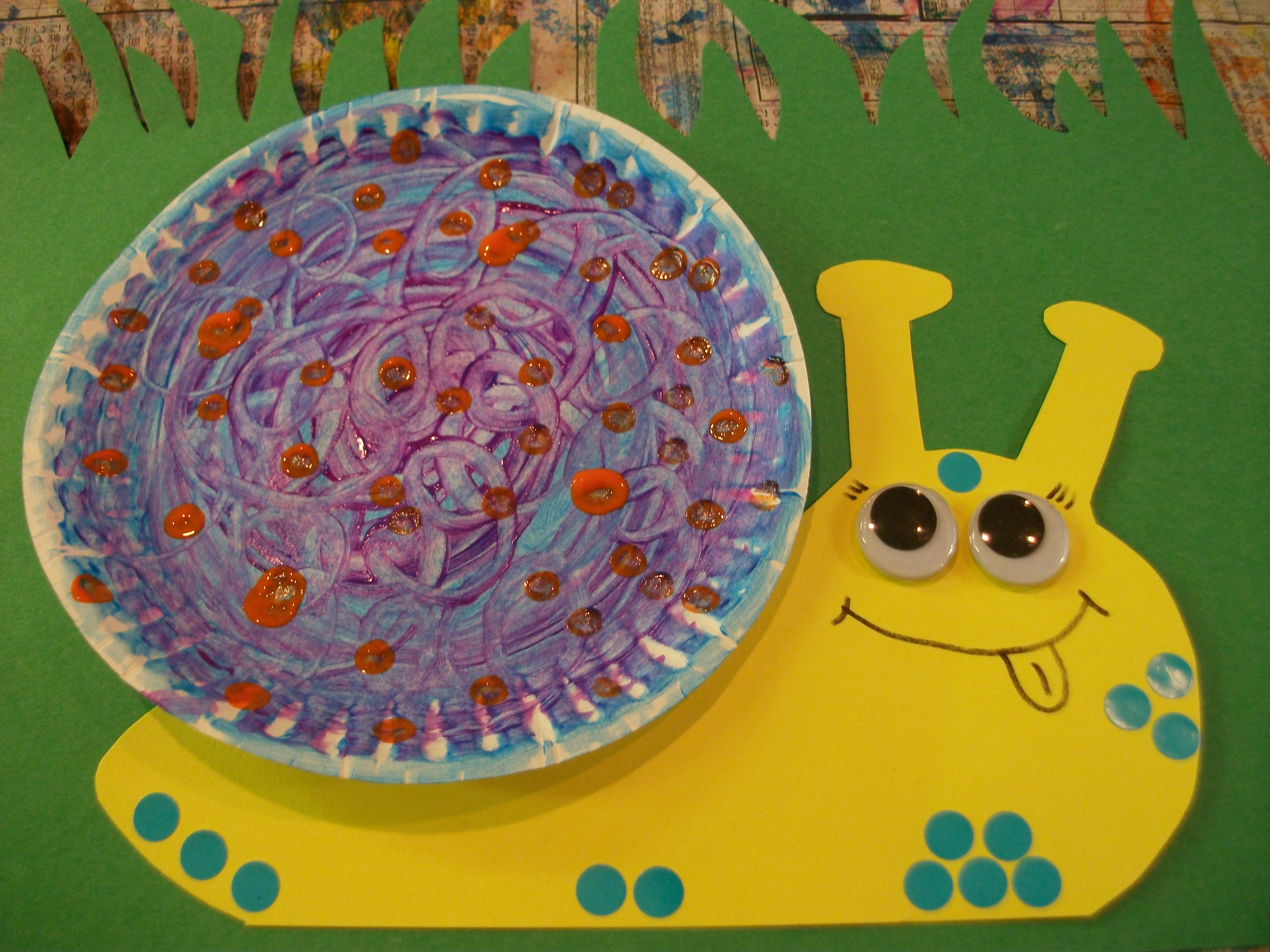 A cute craft from our \ AT THE POND\  unit ... & snail crafts « Playpourri